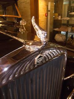 Essex Super Six hood ornament