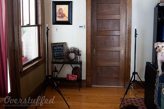 Photography set up