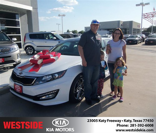Happy Birthday to Christopher Crow from Jorge Fernandez  and everyone at Westside Kia! #BDay by Westside KIA