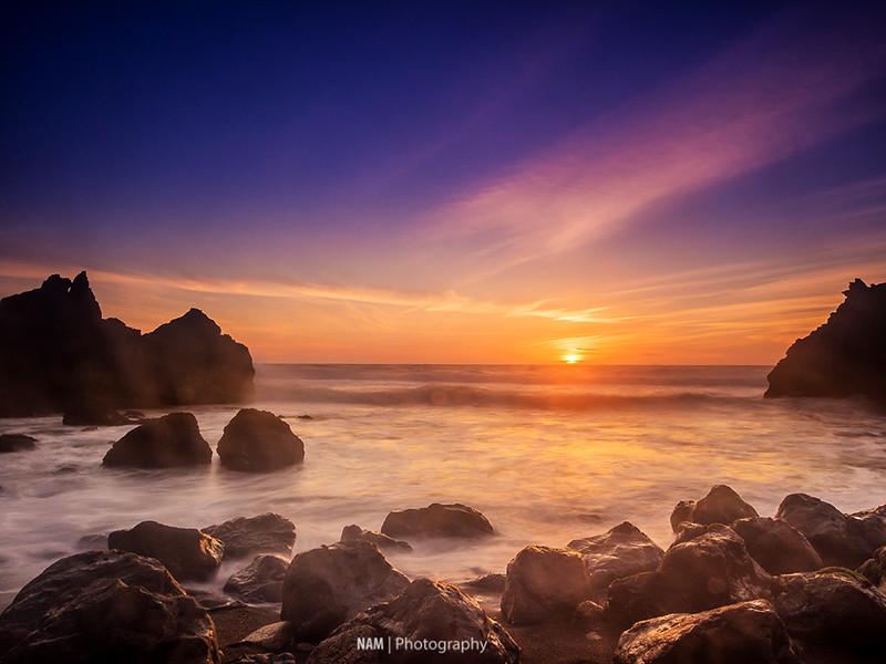 Sunset on Pacifica 12606700464_b9393989f3_c