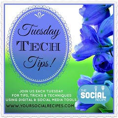 Love to have you check out my new #tuesdaytechtips post! www.yoursocialrecipes.com All about my #Podcast crushes!
