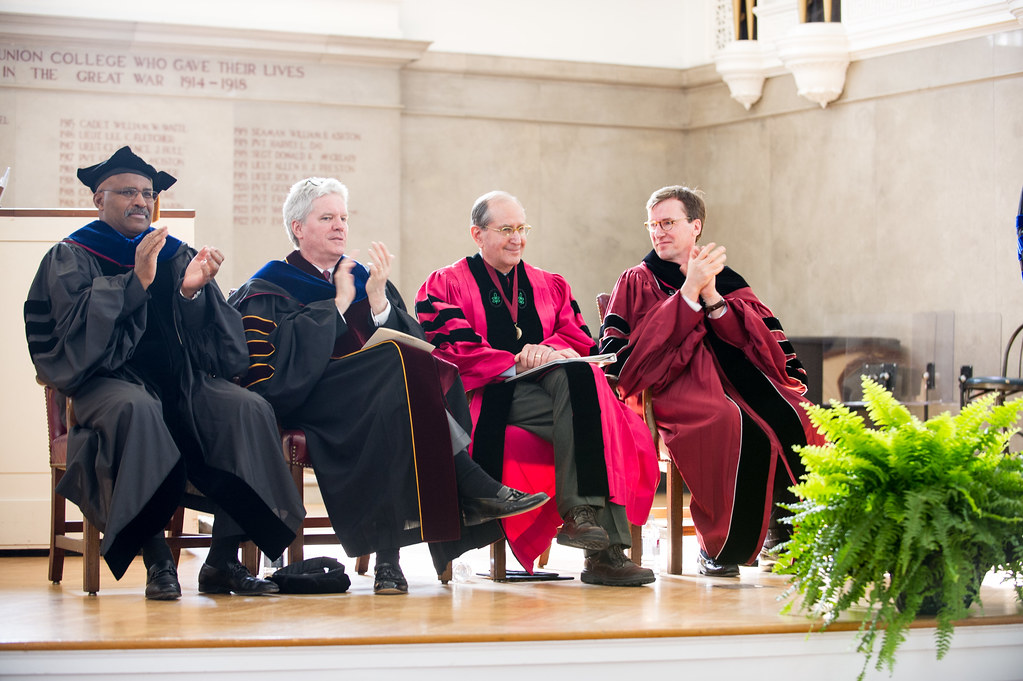 Dr. Alfred Sommer '63 is applauded for his work in global public health.