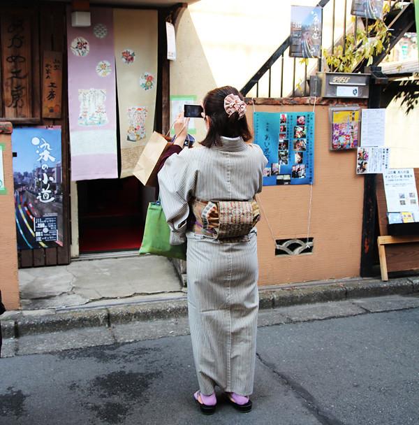 Japanese textile event 染の小道 2014