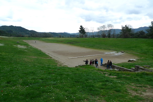 Stadium - Ancient Olympia, Greece