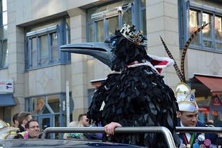 Scary bird king