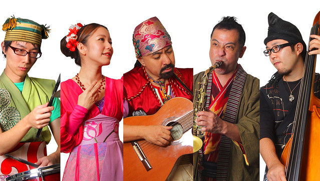 Okinawan pop by Ryukyu Chimdon Band.