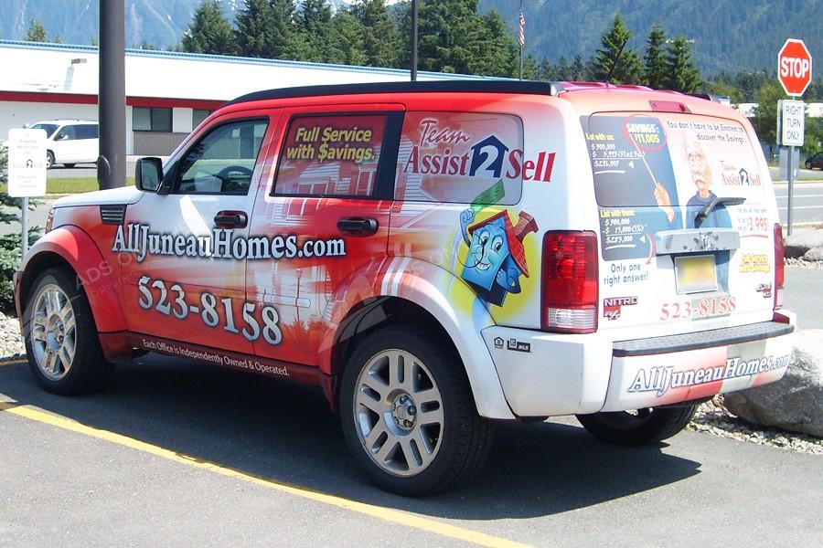Suv Wraps Vehicle Wraps Fleet Graphics Mobile Billboards