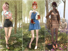 Kustom9, collabor88, The Block Fashion Fair , Cutie Moon Fair and The Dressing Room