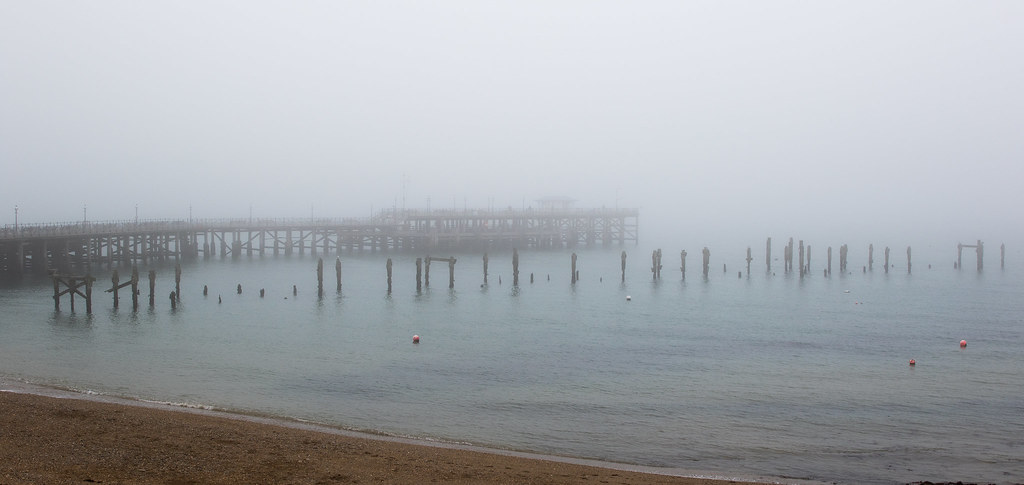 foggy piers - Click to show full size