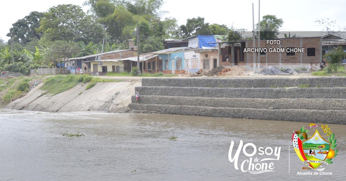 Lluvias provocan turbiedad y sedimentos en la captación de la planta de Agua Potable de Chone