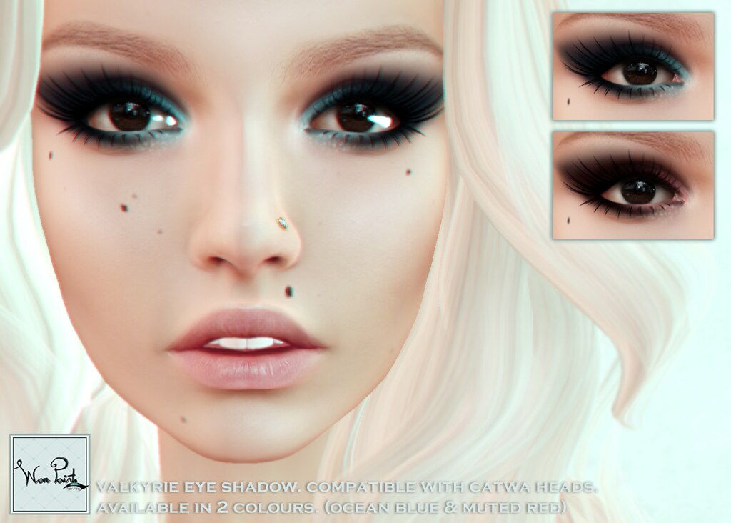 WarPaint* @Appliqué - Valkyrie eyeshadow - SecondLifeHub.com