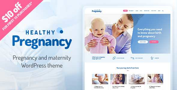 Healthy Pregnancy WordPress Theme free download