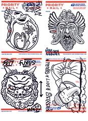 postal art035