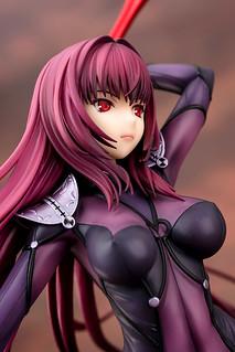 美貌與力量兼具的影之國女王 quesQ《Fate/Grand Order》Lancer/斯卡哈 ランサー/スカサハ 1/7比例模型