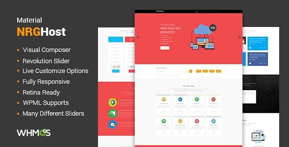 Material WordPress Theme free download
