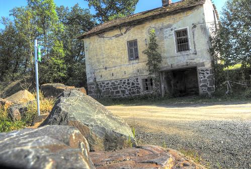Der Basaltsteinbruch von Weitendorf