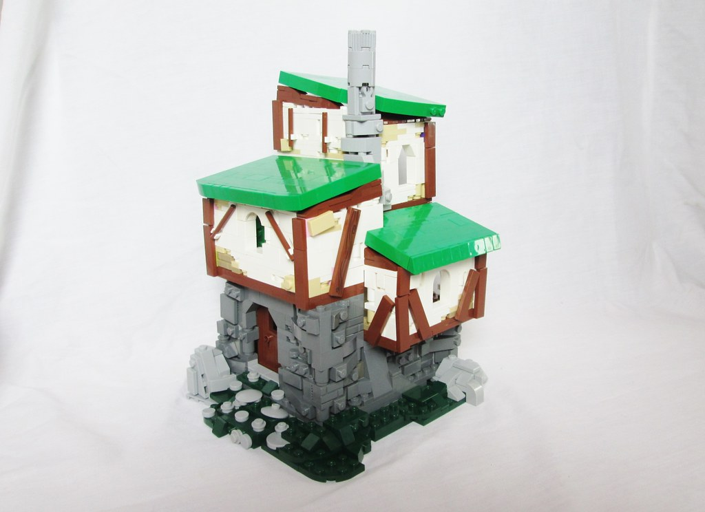 The Jester's Home (custom built Lego model)