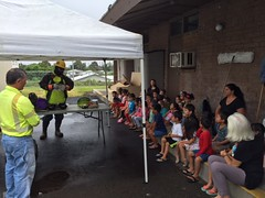 Hawaii Electric Light visits Kamehameha Schools Hilo Preschool - April 12, 2017: Let's learn about electricity and safety!