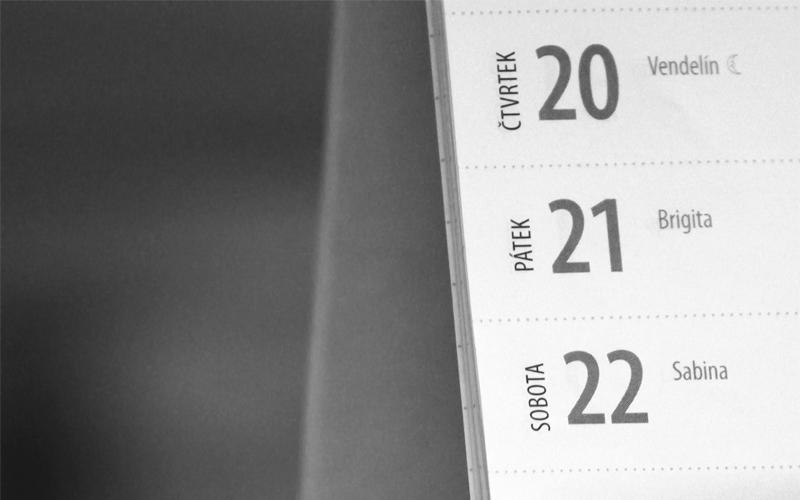 BODY雜誌 日期 月曆 時間