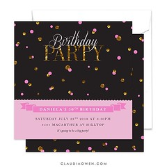 If there's confetti, it's a party! #partyinvitations #eventplanning #artlicensing