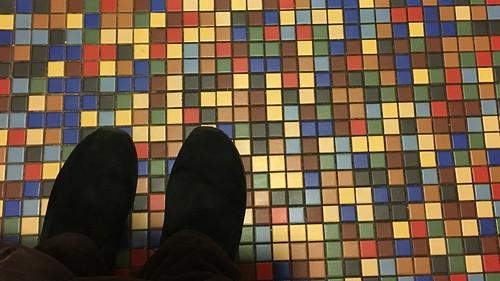 birthweek theoldspaghettifactory matthew bathroom floor dlused