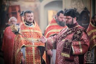 Литургия в Иверском монастыре 365