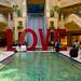 Love Sign at the Venetian Hotel, Las Vegas, Nevada, USA