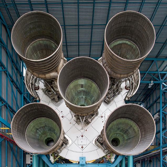 Saturn V exhaust, Nikon D5, AF-S Nikkor 24-70mm f/2.8E ED VR