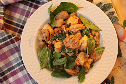 Thai Basil Chicken -edit