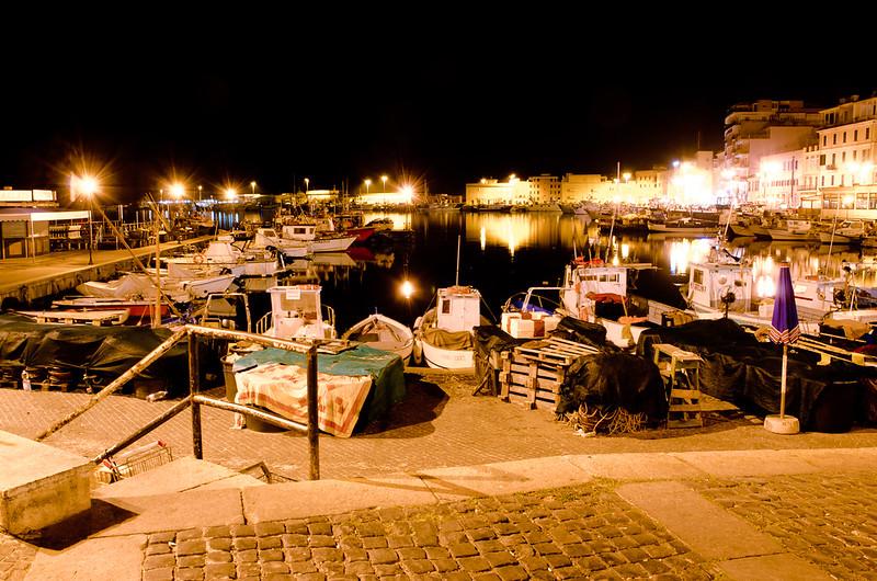 Anzio harbour