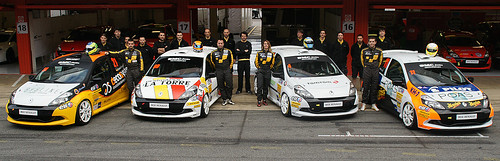 Equipo SMC Junior Motorsport Clio Cup 2013