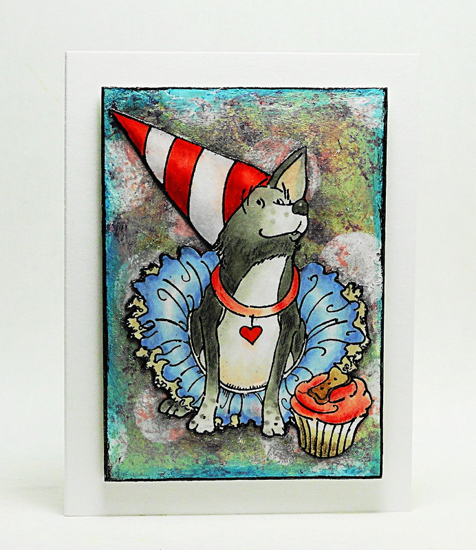 Petite Card (Mixed Media)