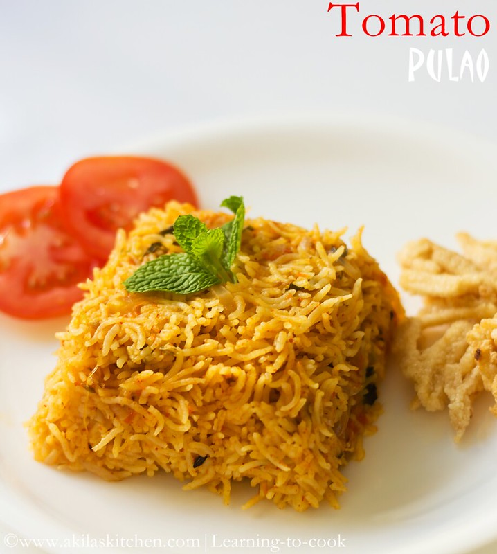Spicy Tomato Pilaf