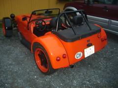 race car, automobile, lotus seven, vehicle, open-wheel car, land vehicle, convertible, sports car,