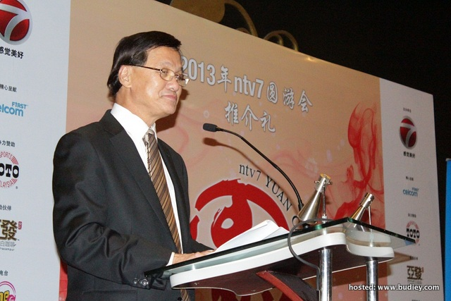 Tan Sri Pheng officiate YUAN Carnival 2013