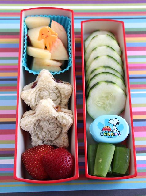 Snoopy Sandwich Preschool Bento #465