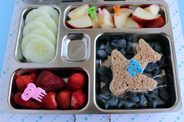 Preschool Airplane Bento #470
