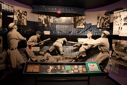 Ty Cobb Style Baseball - Ty Cobb Museum