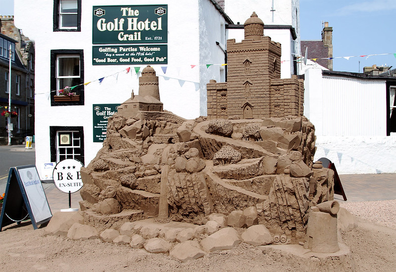 Not quite your average sandcastle....