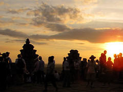 Sunset at Phnom Bakheng Mountain