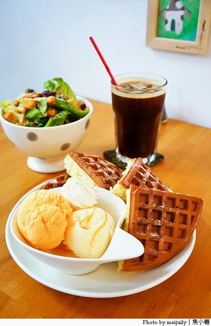 [台中下午茶]時光咖啡-第一好吃鬆餅自然無負擔的美味@ 焦小 ...