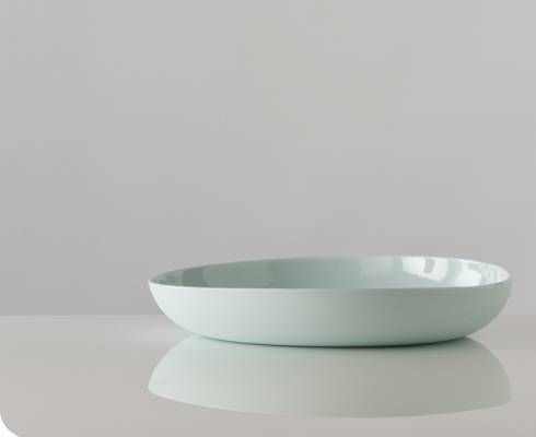 Large Pebble Serving Bowl