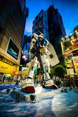 Gundam RX78 in Hong Kong