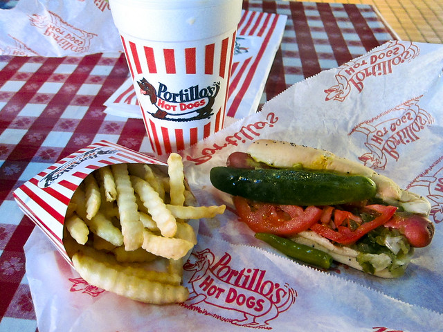 Portillo's Hot Dogs | Chicago-Style Hot Dog