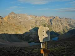 Blue Lakes Pass (12,980 ft)