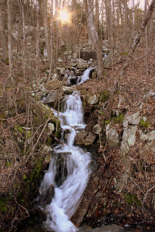 Unnamed waterfall one seen along the old Dixie Highway