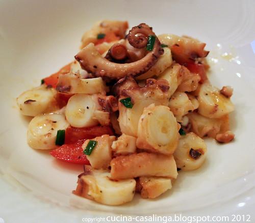 Oktopus Salat