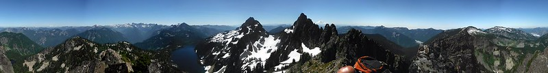 Roosevelt False Summit Pano