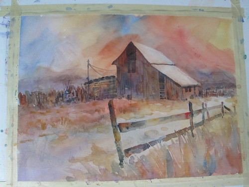 89 Barns horizontal version by luv2draw