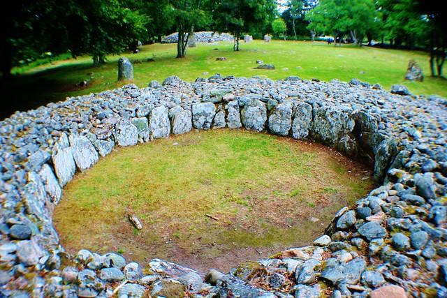 Clava Cairns Prehistoric Site, Scottish Highlands